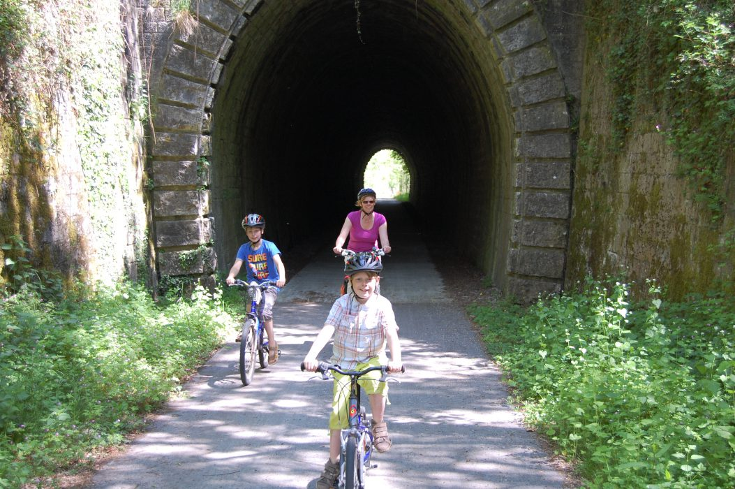 Voie Verte fietstunnel Bourgogne