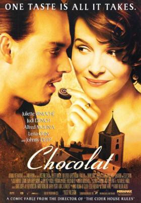 Film Chocolat  uit Flavigny-sur-Ozerain