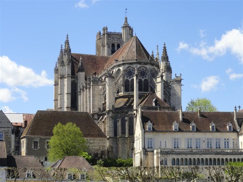 kathedraal st etienne Auxerre