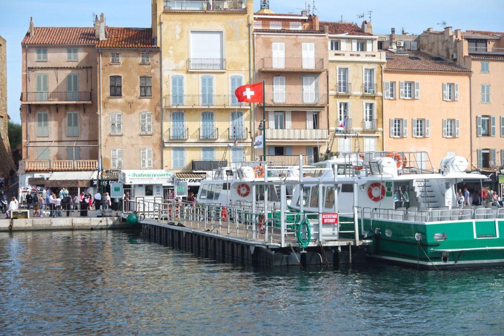Saint-Tropez met bateaux Verts