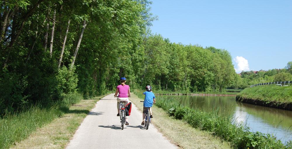 Canal de Bourgogne fietsen